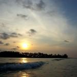 Thajský západ slunce