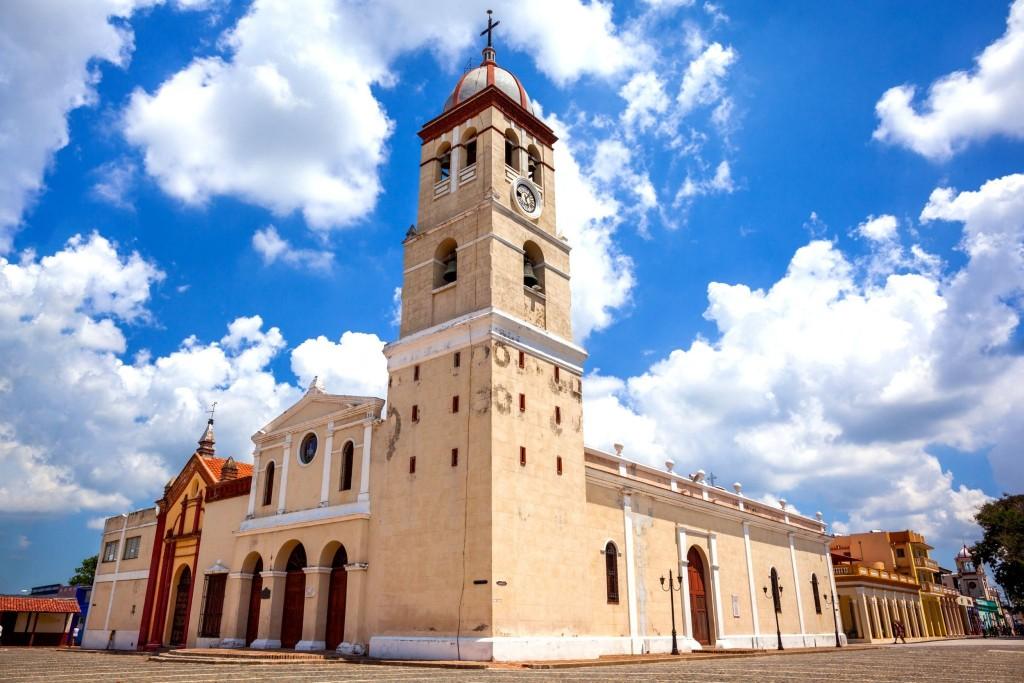 Catedral de San Salvador ve městě Bayamo