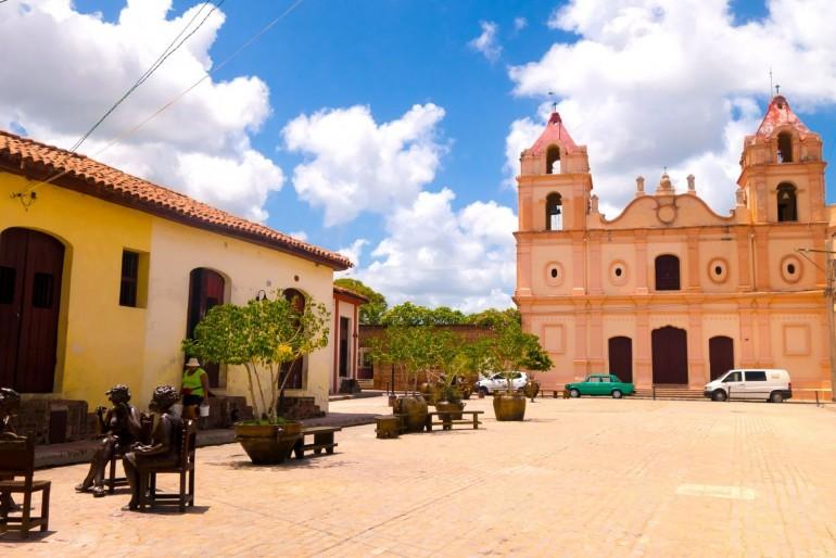 Plaza del Carmen ve městě Camagüey