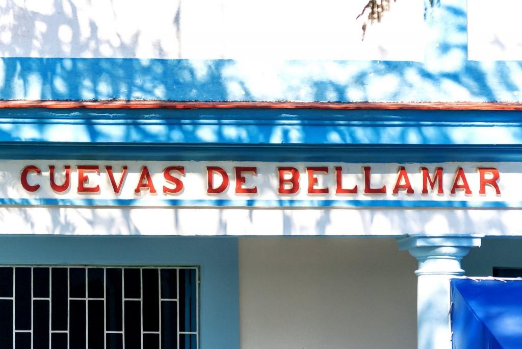 Vstup do Cuevas de Bellamar