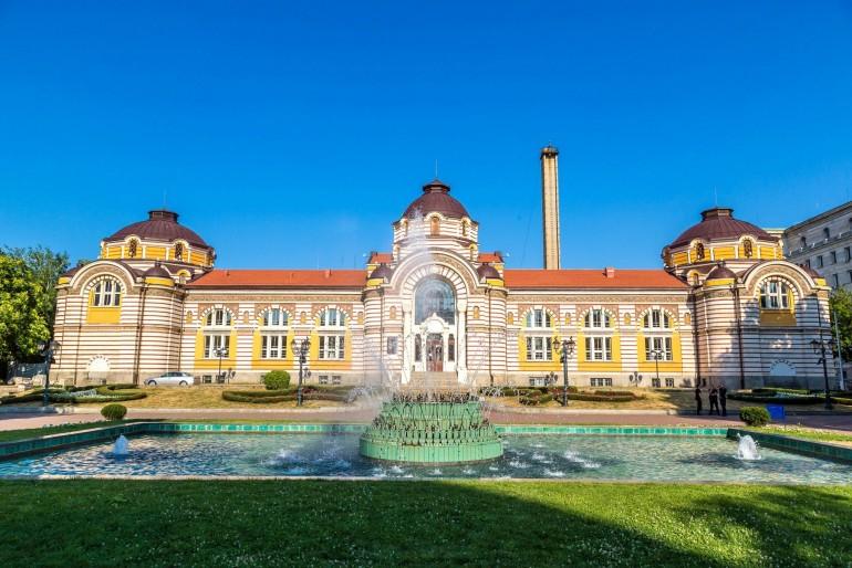 Centrální lázně v Sofii