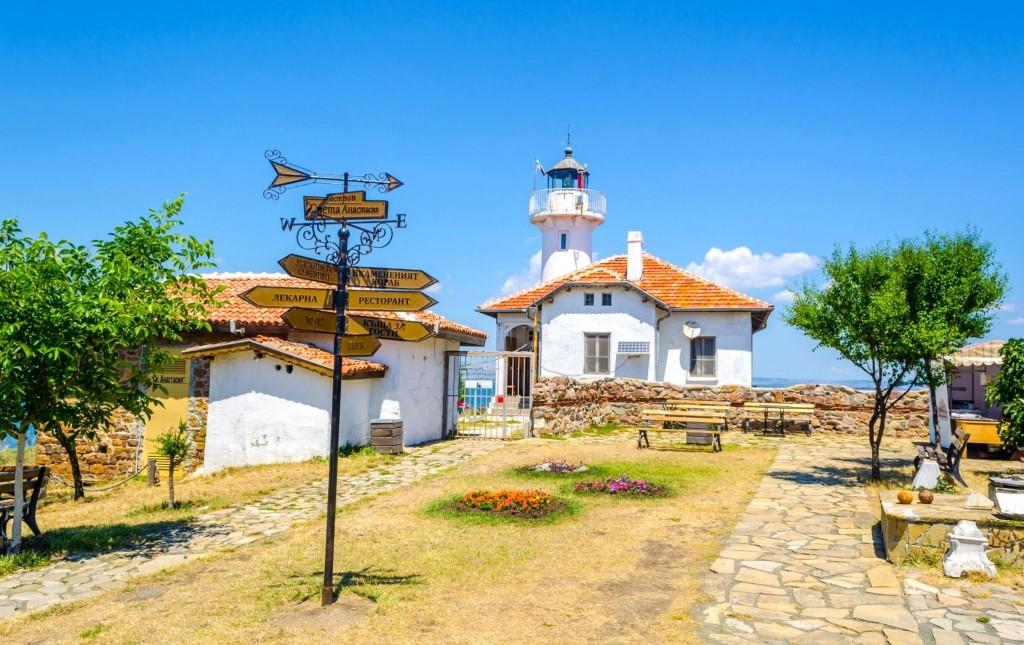 Na ostrově Sv. Anastasia