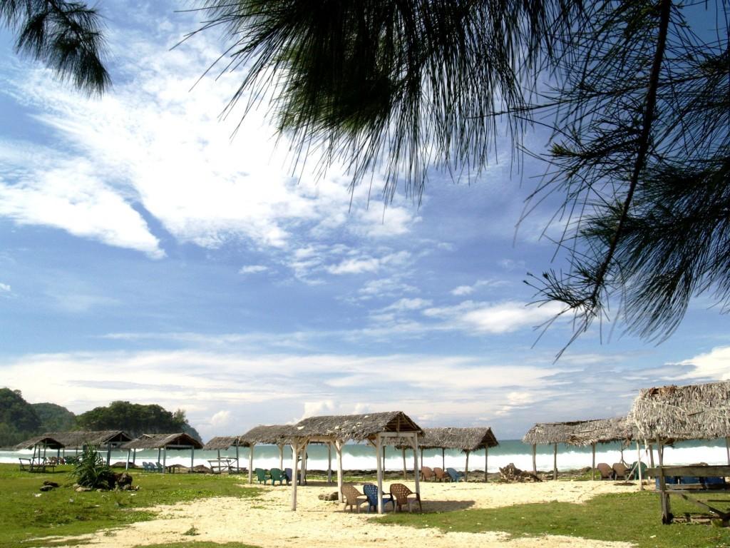 Pláž v Banda Aceh