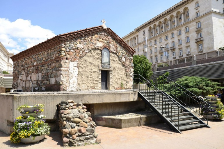 Podzemní kostelík sv. Petky Samardžijské