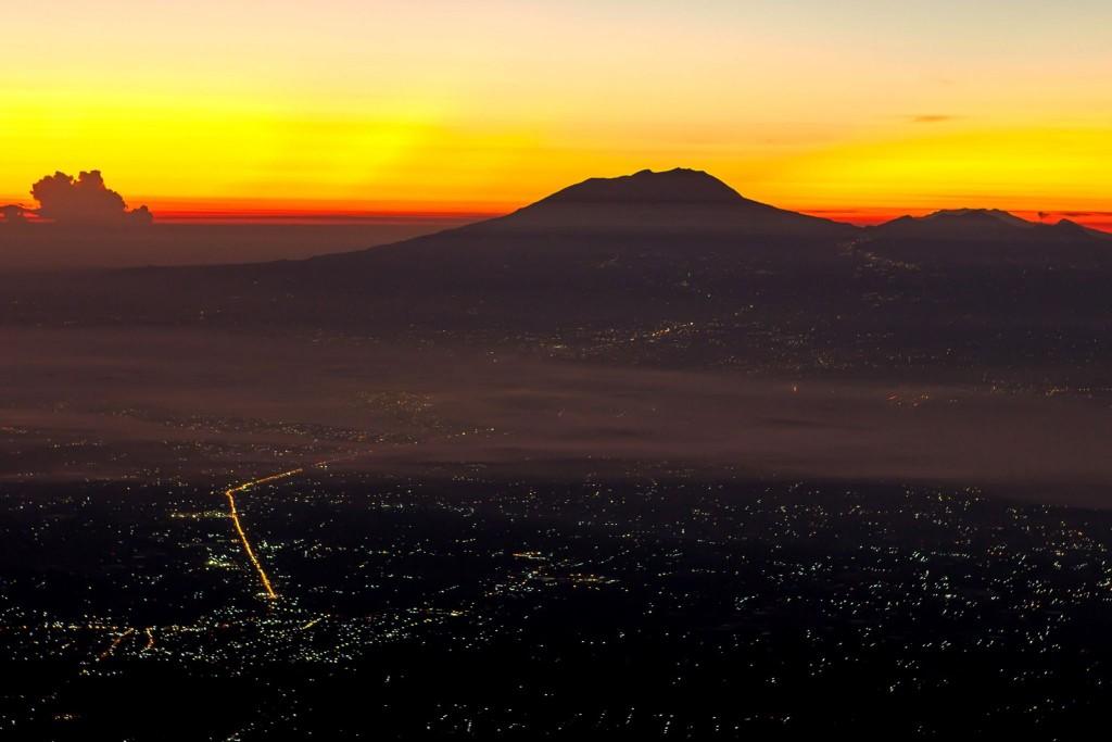 Sopka Gunung Lawu