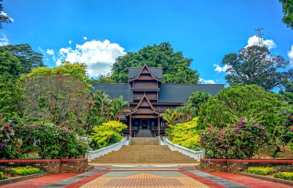 Sultánský palác v Melace (Istana Kesultanan Melaka)