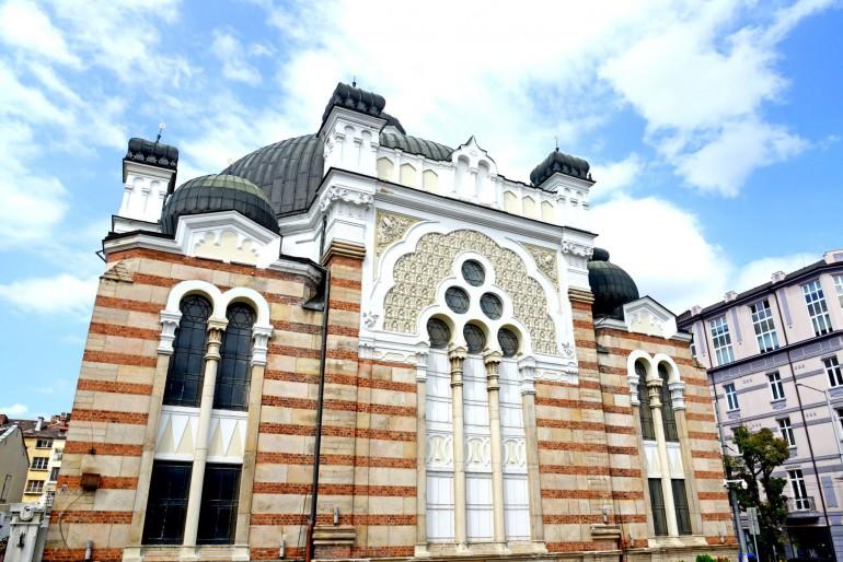 Synagoga v Sofii