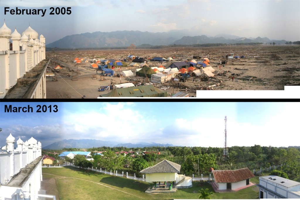 Tsunami v Banda Aceh - tehdy a dnes