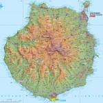 Mapa Gran Canaria