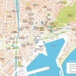 Mapa Malagy