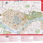 Mapa města Sevilla