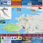 Mapa města Split