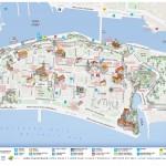 Mapa města Zadar