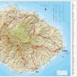 Mapa ostrova La Gomera