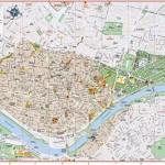 Mapa Sevilly