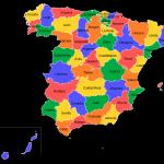 Mapa španělských provincií