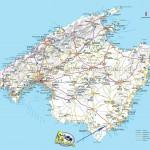 Turistická mapa Mallorcy