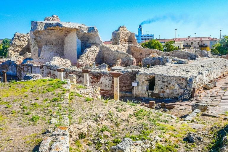 Archeologický park v Porto Torres