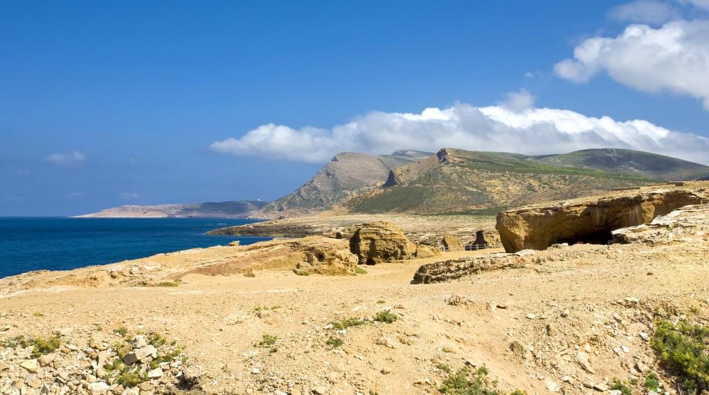 Jeskyně Grottes Romaines (El Haouaria)