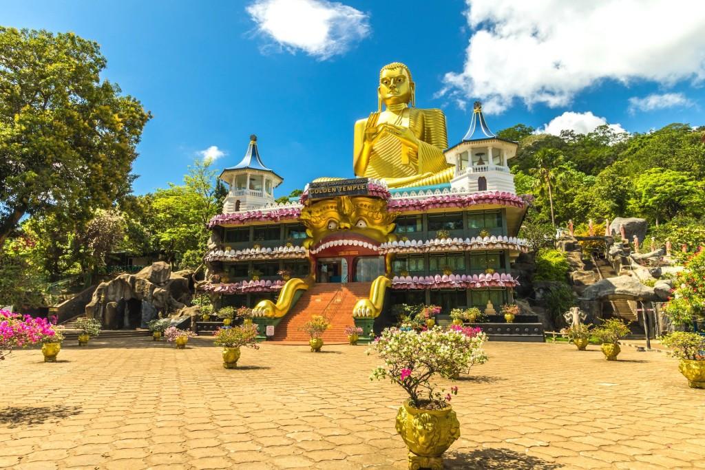 Skalní chrámy Dambulla