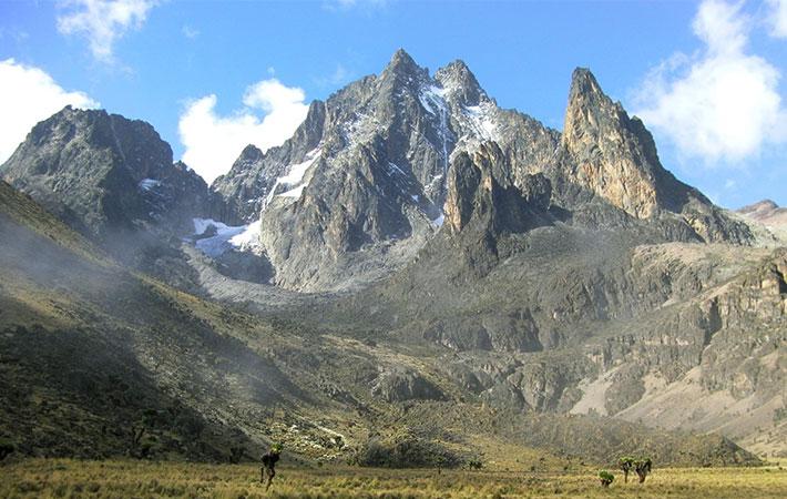 Mt. Kenya aneb park s nejvyšší horou Keni
