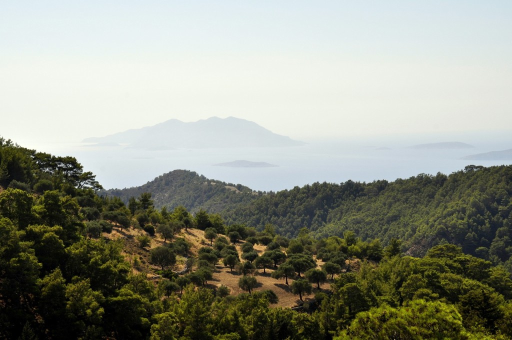 Krajina ostrova Rhodos