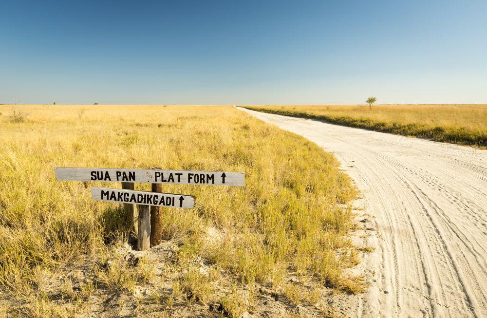Ideální počasí pro návštěvu Makgadikgadi Pans