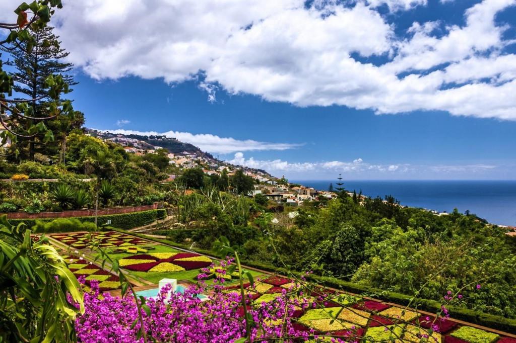 Proslulé zahrady na Madeiře