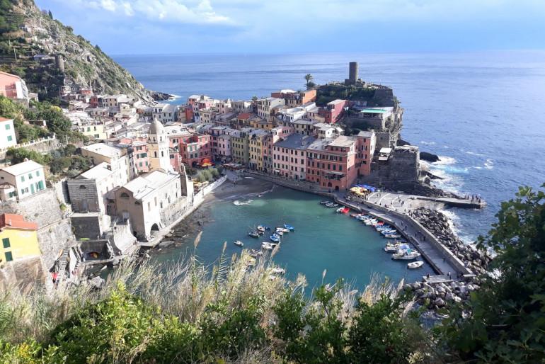 Cinque Terre: Pět malebných rybářských vesniček na drsném pobřeží Ligurie