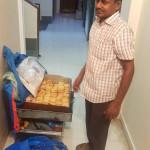 Podomní prodejce sušenek