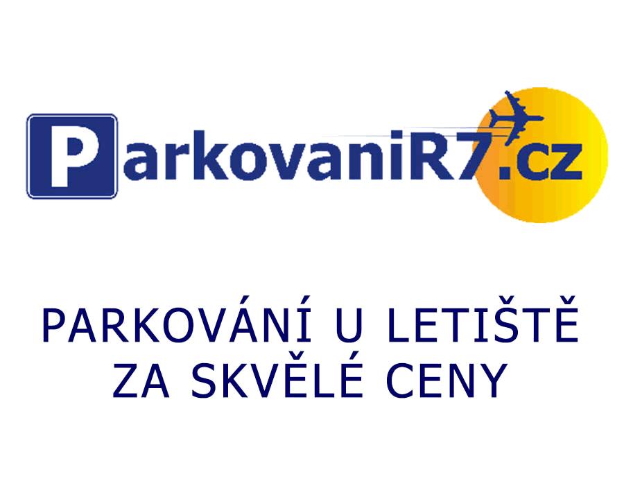 Parkování R7 u letiště v Praze