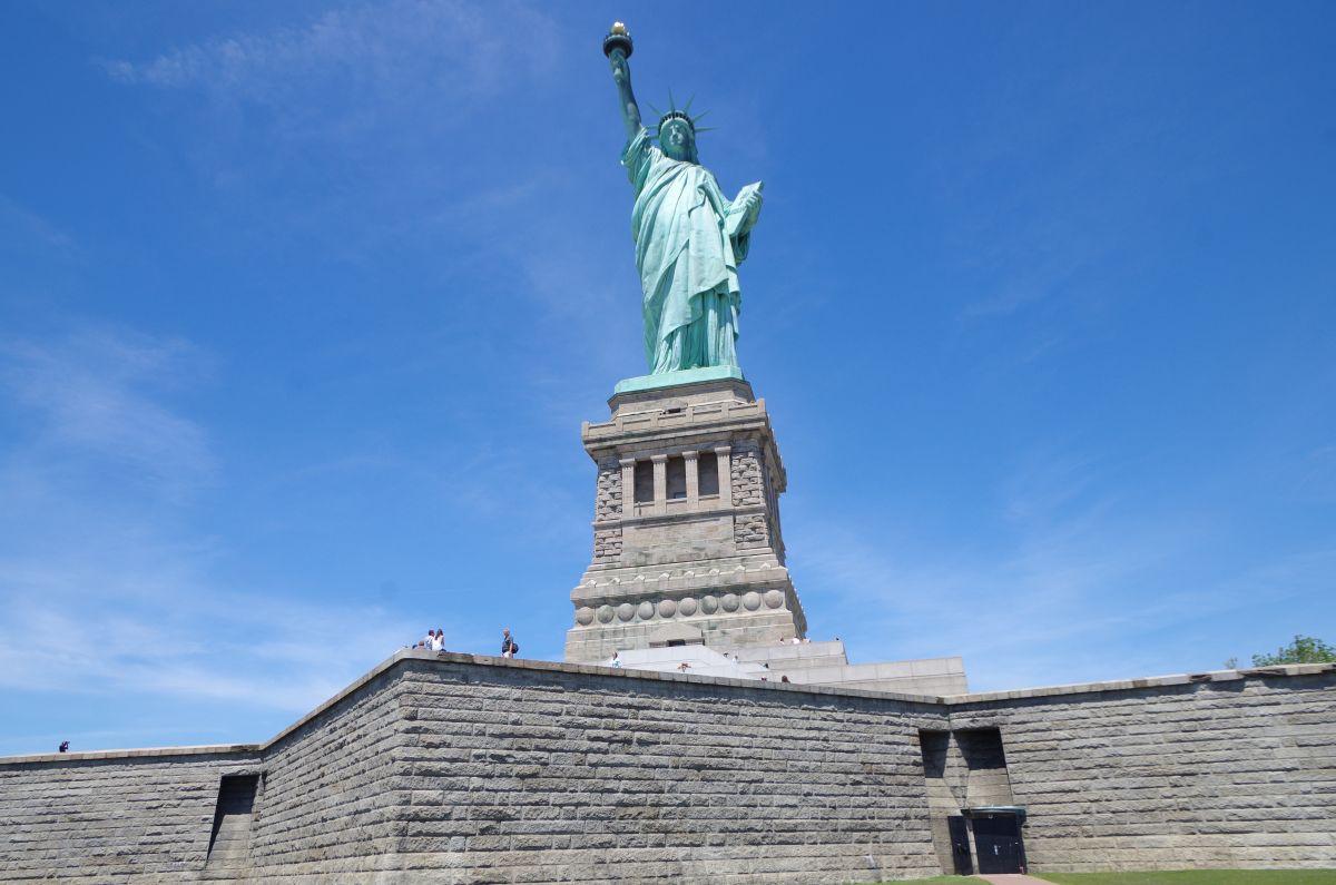 Na Liberty islandu