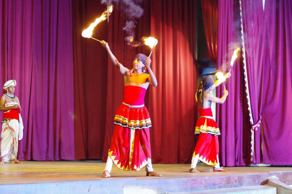 Představení tradičních tanců