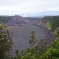 Kráter sopky Kilauea Iki