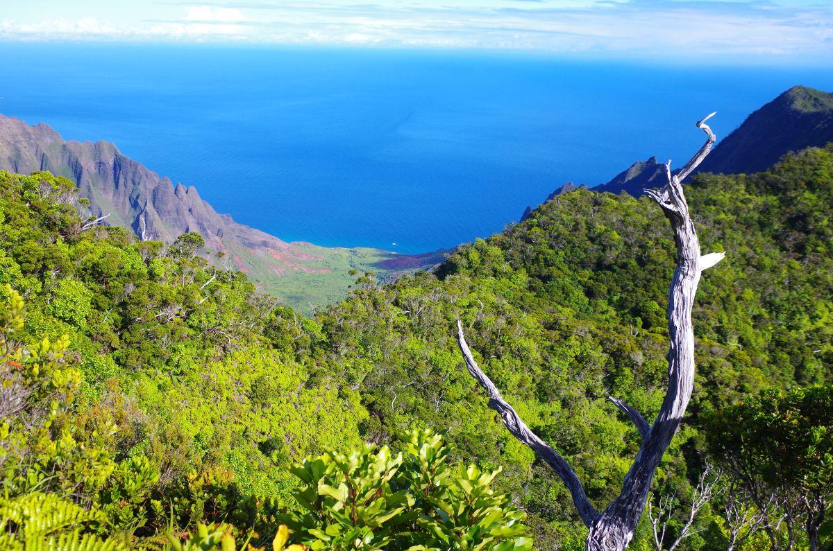 Údolí Kalalau na ostrově Kauai