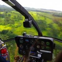 Výlet vrtulníkem