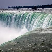 Divoký průtok vody