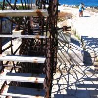 Mlýnské kolo v Katavothres u Argostoli