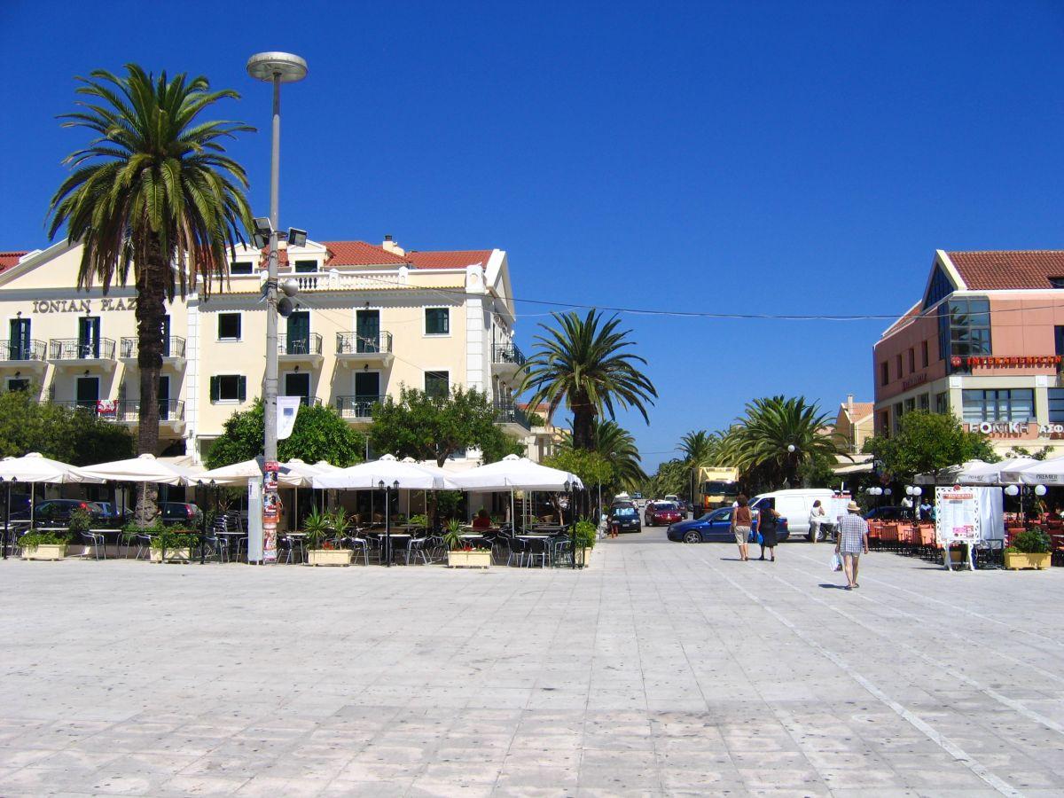 Náměstí v Argostoli
