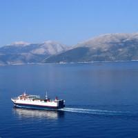 Trajekt na ostrov Kefalonie