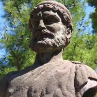 Odysseova socha ve Stavrosu
