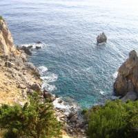výlet na motorkách – Paleokastritsa