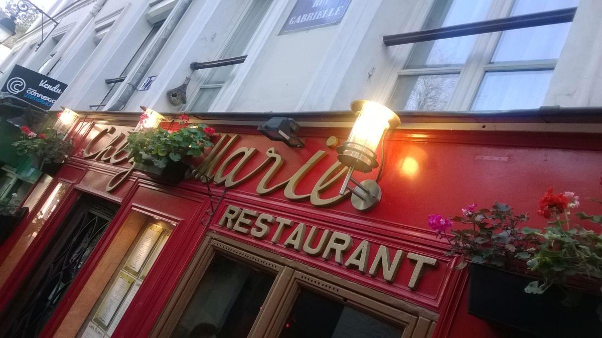 Restaurace na Montmartru